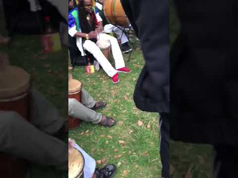 UPMOVE NYAHBINGHI KETTEH KING BOOM DONOVAN GREEN ON THE KETTEH DRUM