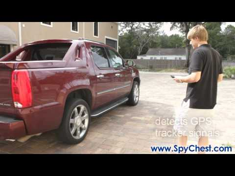 Detect Mobile/Cell Phone Signals And GPS Tracking Systems - Spy Chest