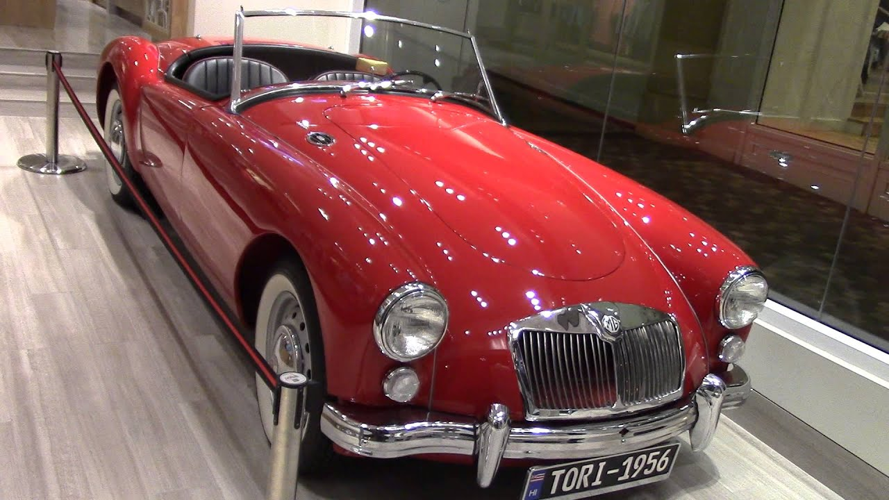 The Classic MG Automobile that Elvis Presley drove in that ...