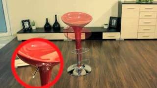 видео Барный стул пластиковый Crack