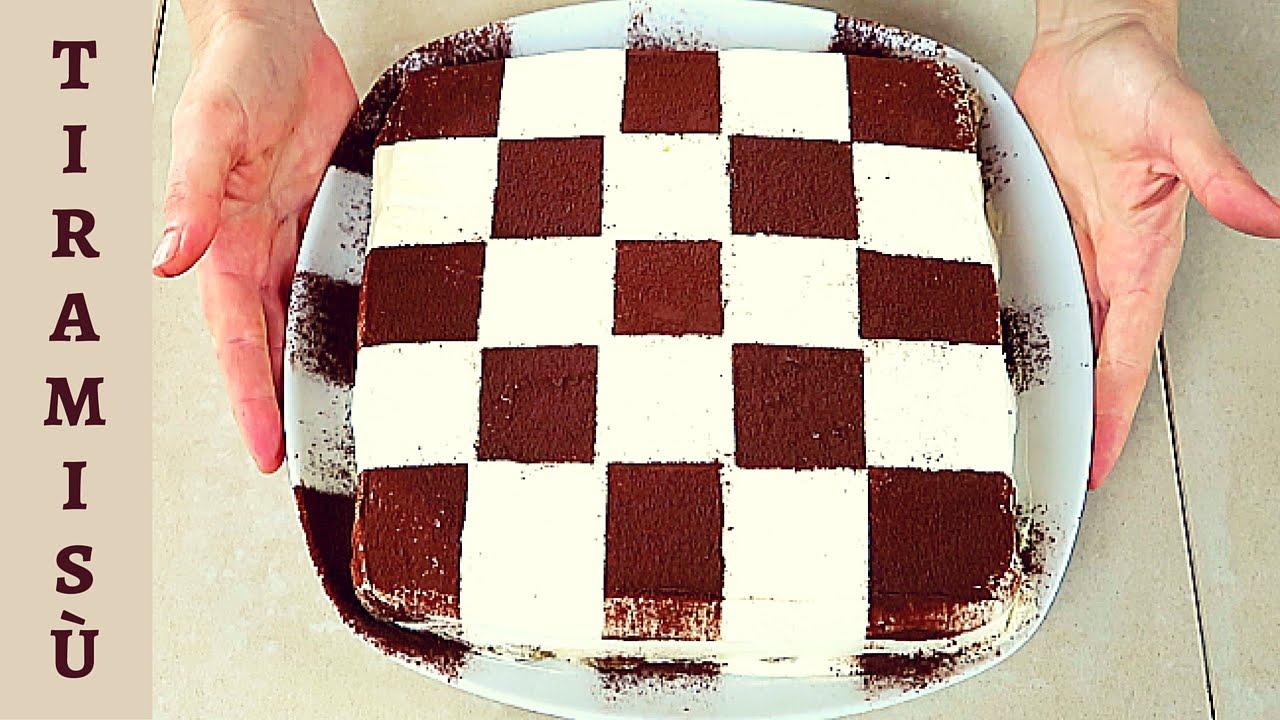 Ricetta Tiramisu Savoiardi Benedetta.Tiramisu A Scacchi Ricetta Facile Easy Tiramisu Chessboard Recipe Youtube