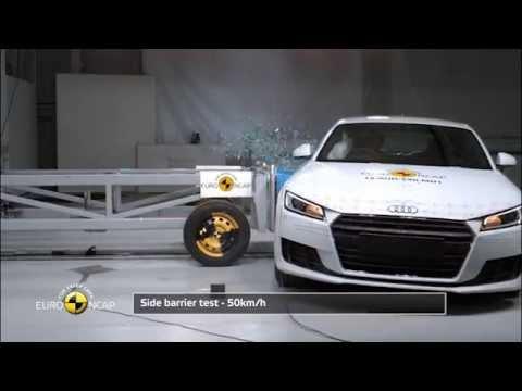 Euro NCAP Crash Test Of Audi TT YouTube - Barrier audi