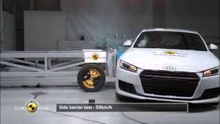 Euro NCAP Crash Test of Audi TT 2015