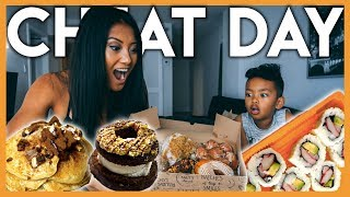 1ST CHEAT DAY IN 4 MONTHS | I Ate What I Wanted | The Cut Series Ep. 13
