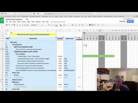 How To Modify The Gantt Chart In The J. P. Mueller Group Project