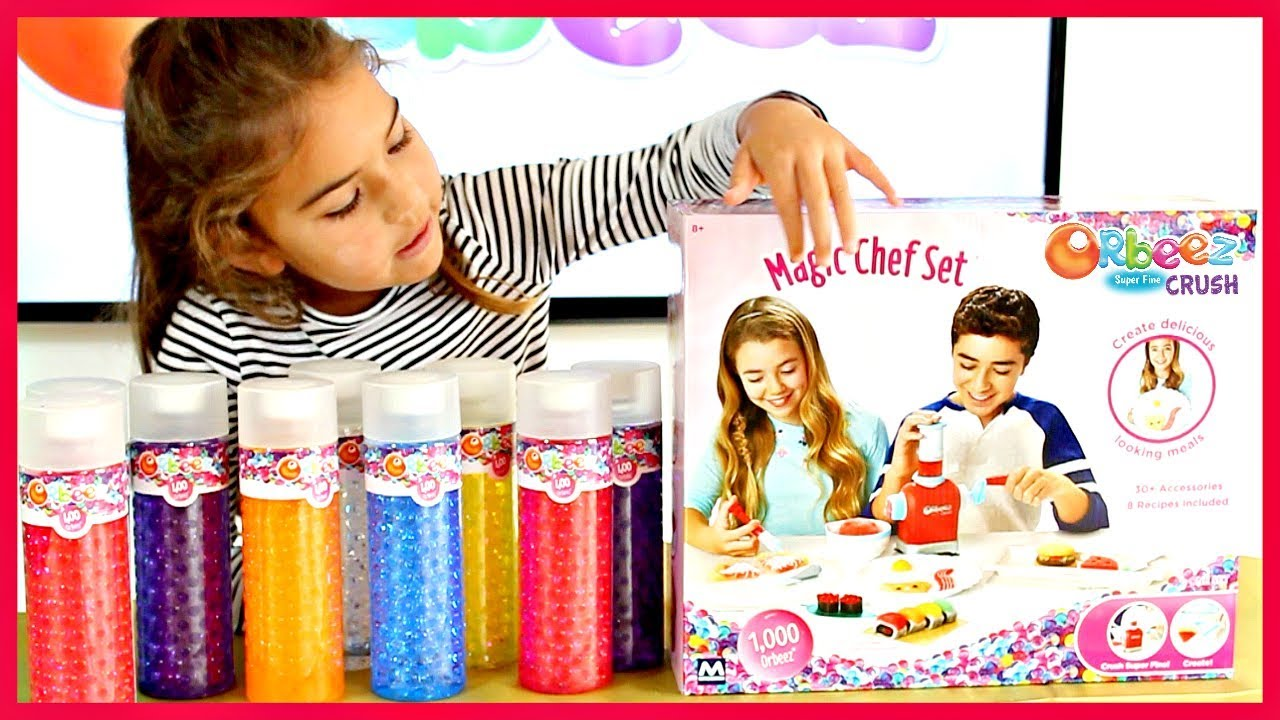 orbeez magic chef set