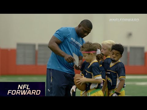 LT & Other NFL Stars Coach Flag & Youth Football