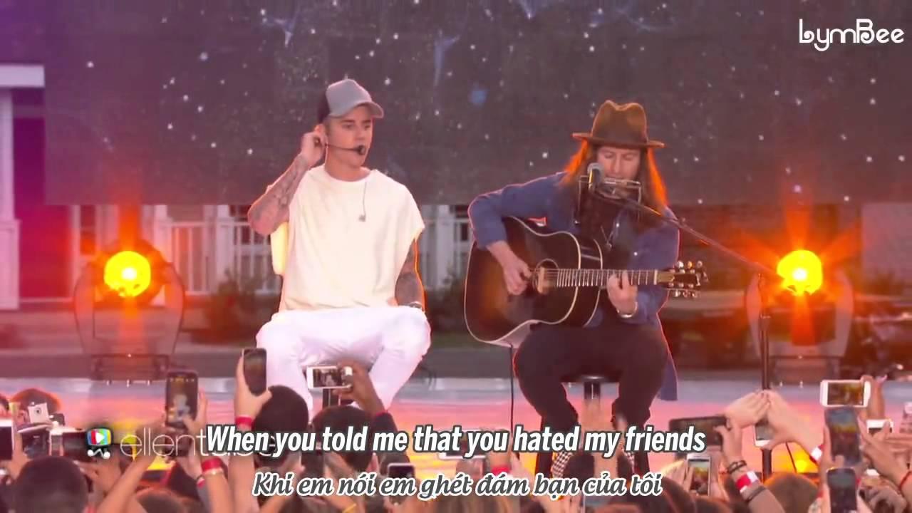 Download [Vietsub][Live] Love Yourself - Justin Bieber