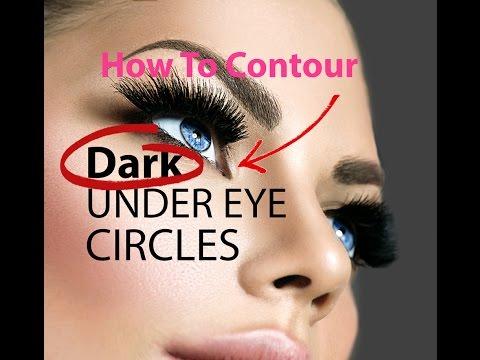 How to Contour Dark Under-Eye Circles - Makeup Tutorial