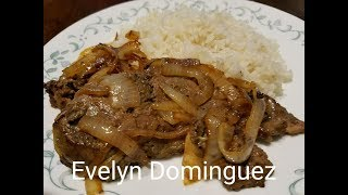 Fried Beef Liver with Onions