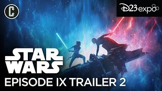 Star Wars 9 Trailer Description: Rey Wields a Red Double-Sided Lightsaber (D23 Expo 2019)
