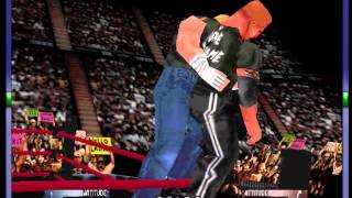 WWF WrestleMania 2000 - -HHH Vs The Rock- No DQ- Vizzed.com GamePlay - User video
