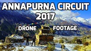 Nepal - Trekking The Annapurna Circuit | Drone | January 2017