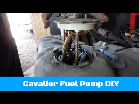 how to change the fuel pump on a chevy cavalier or pont. Black Bedroom Furniture Sets. Home Design Ideas