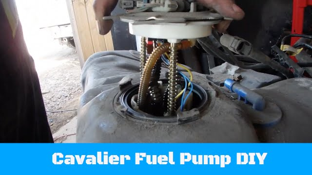 Chevy Cavalier Fuel Pump DIY - YouTube