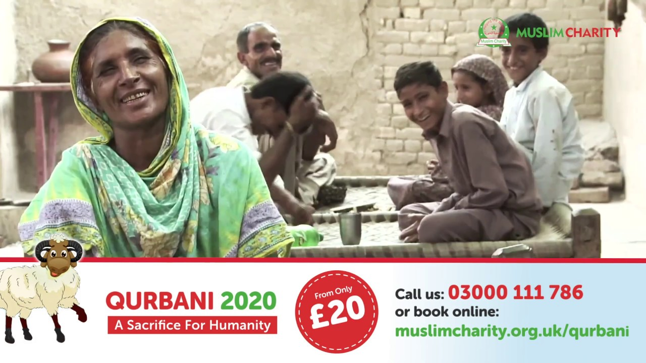 QURBANI 2020 | MuslimCharity.org.uk | FROM ONLY £20 | SHARE HAPPINESS | ORDER NOW | | UDHIYA