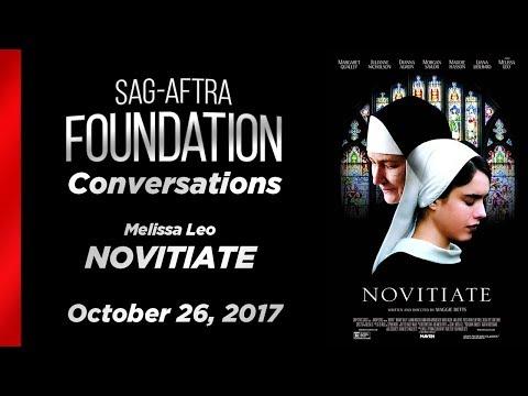 Conversations with Melissa Leo of NOVITIATE