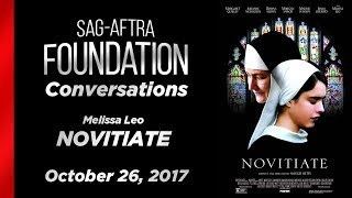 Conversations with Melissa Leo of NOVITIATE