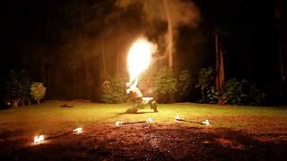 Mak Rahi, Siva Afi, Fire Dance by Rako Pasefika