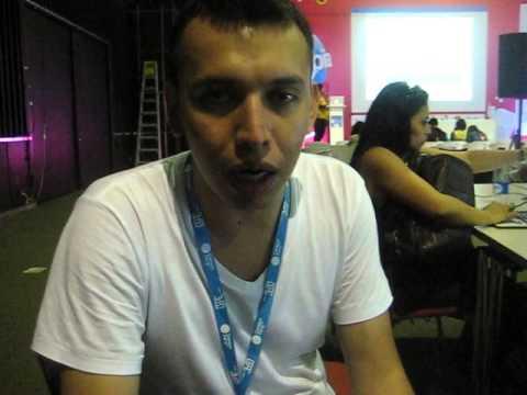 Katbag presente en Campus Party Cali 2014. Testimonio 1