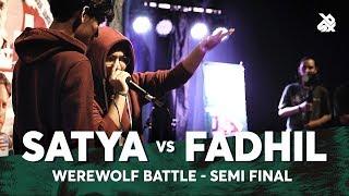 SATYA vs FADHIL | Werewolf Beatbox Championship 2018 | Semi Final