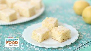 Lemon Drizzle Slices (donal Skehan X Sarah Carey Collab!)