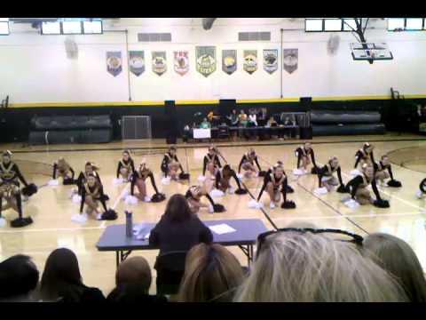 Oakville Middle School Pom Competition 12/1/12