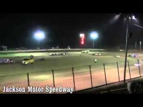 C11 WINS I-20 CHALLENGE  JACKSON MOTOR SPEEEWAY 7-18-15