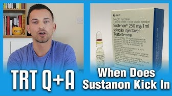 How Long Does Sustanon Take To Kick In? TRT Q+A