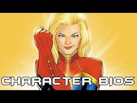 Character Bios: Captain Marvel (Carol Danvers)