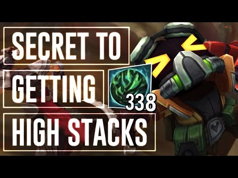 CONSISTENTLY GET 1000 AP EVERY GAME ! 45% CDR RUSH VEIGAR MID PASSIVE STACKING BUILD ! MID GAMEPLAY