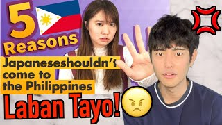JAPANESE REACTS 5 Reasons Why Japanese Shouldn't Come To The Philippines! (123Japan)