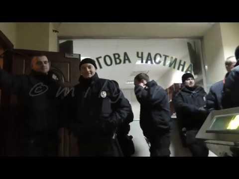 Задержание журналиста. Соломенский РАЙОТДЕЛ. январь 17