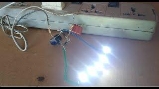 Hoe maak je een Transformatorloze voeding met behulp van 5w LED-verlichting (onderdeel -2)