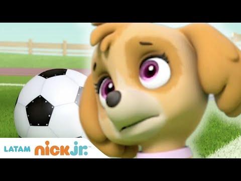 Paw Patrol, Patrulla de cachorros   Los Cachorros Salvan el Partido de Fútbol   Nick Jr. en Español