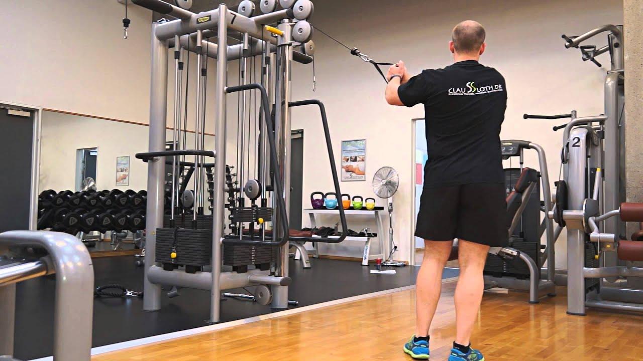 Claussloth.dk - 4 øvelser i kabeltræk som træner hele kroppen (Øvelse 2)