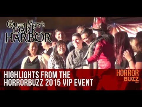 HorrorBuzz.com Queen Mary's Dark Harbor Event 2015