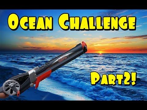 Rocket fishing rod ocean challenge pt 2 hardest challenge for The rocket fishing rod