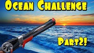 rocket fishing rod ocean challenge pt 2 hardest challenge yet