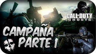 """"""" UN NUEVO MUNDO"""" - Call Of Duty : GHOSTS - Campaña - Parte 1 - Español -  Walktrough - COD : GHOSTS"""