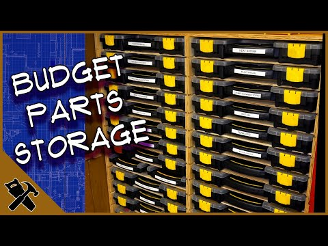 Harbor Freight Storage Bin Case Organizer- Econo Sortimo one day build