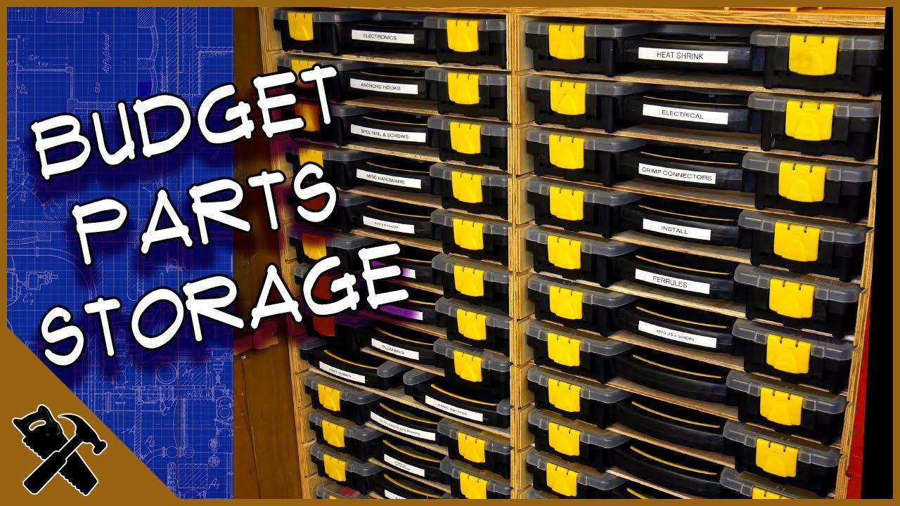 harbor freight storage bin case organizer econo sortimo one day build