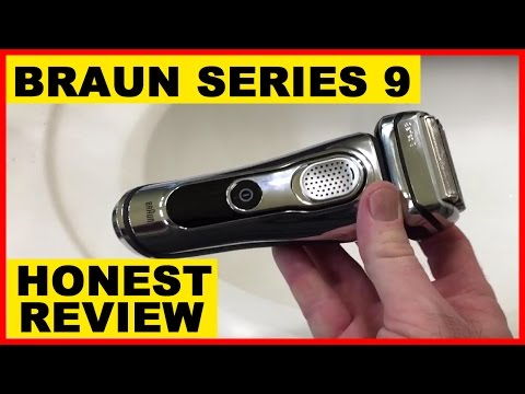 HONEST Braun 9095cc Electric Razor Series 9 REVIEW + DEMO