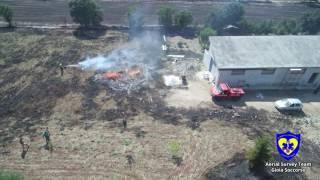 Gioia Soccorso PAGS Intervento AIB su incendio