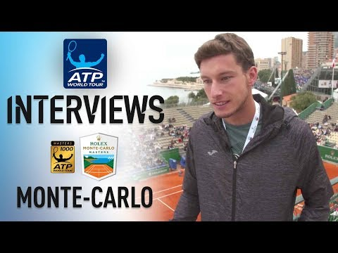 Carreno Busta: 'It's A Good Season For Me' Monte-Carlo 2018