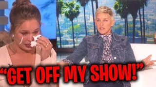 When Ellen Gets Pissed At Guests