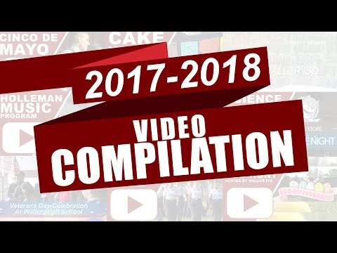 2017-2018 End Of Year Video Compilation