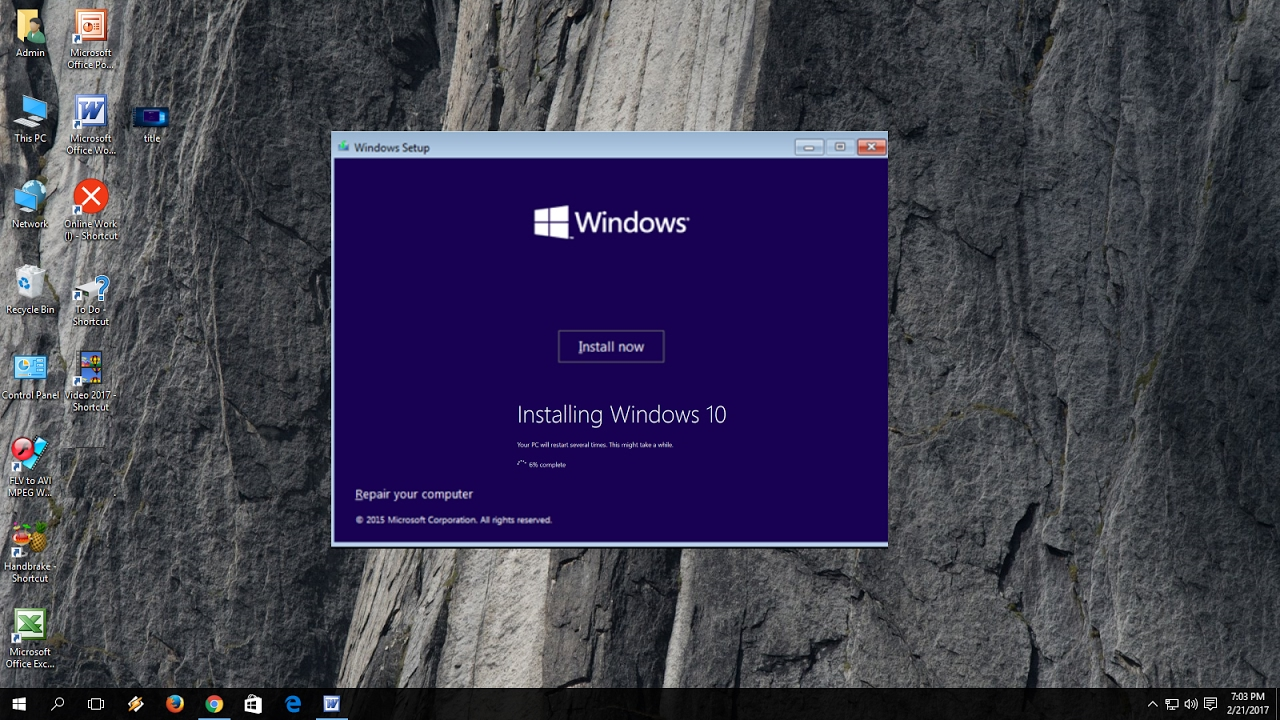 How to Install Windows 10 without USB Pen drive or DVD