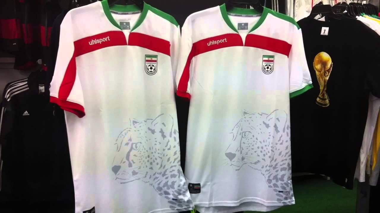 0883495ea9d Iran Jersey 2014 by Uhlsport at NAS in Vancouver BC - YouTube