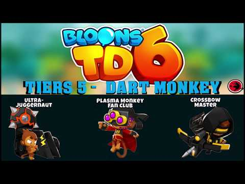 Repeat How Long Can You Survive With 1 Dart Monkey? (Bloons